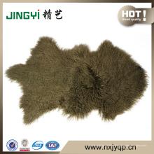 Première qualité mouton mongol fourrure d'agneau fourrure de mouton 50X90cm