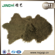 First Grade Mongolian Tibet Lamb Fur Sheepskin 50X90cm