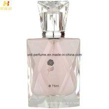 Perfume de mulheres de garrafa de vidro de polonês