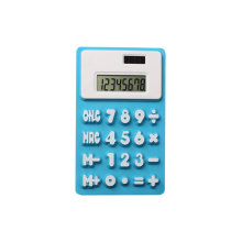 8 chiffres Soft Silicone Flexible Calculator