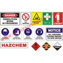 Enamel Sign Board for Communal Facilities/Gas Station Enamel Sign Board