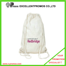Eco-Friendly and High Quality Wholesale Cotton Fabric Drawstring Bag (EP-B9110)