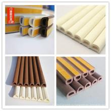 D Форма EPDM Экструдированная клейкая пенная резиновая лента