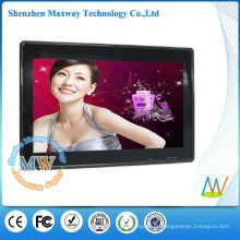 Comercial publicidade HD de 15,6 polegadas digital foto moldura LCD exibir