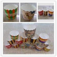 Mini Papier Kuchen Backen Cups für Hochzeitsfeier