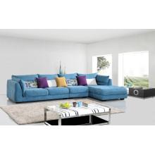 Conjunto de sofá de tecido de sala de estar popular de 3 lugares