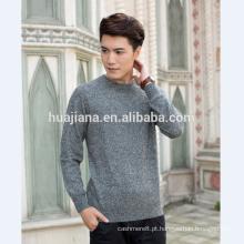 preto / branco fio de confecção de malha de algodão suéter de cashmere