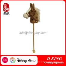 Vara Cavalo Brinquedo De Pelúcia para o Bebê Por Atacado China