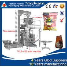 Máquina automática de embalagem de porcas secas