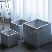 Square Cement Pots For Plants