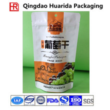 Colorful Printing Plastic Dried Fruit Packaging Bag, Plastic Nuts Pouch