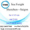 Shenzhen Port Sea Freight Shipping To Saigon