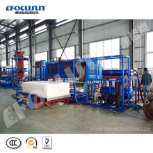 5 tons direct refrigeration block ice machine with high quality and low price