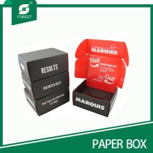 Kundenspezifisches Design Beide Seiten gedruckte Box Farbe Tuck-Top Box