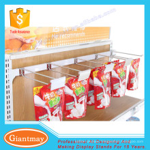 seamless Middle duty display hook for crossbar