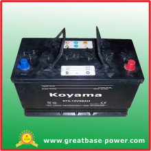 High Quality Car Battery 674-96ah 12V
