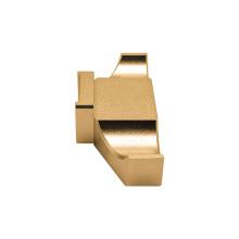 High precision cnc lathe processing milling cnc machining brass block