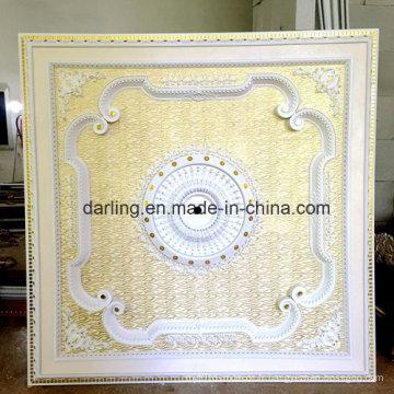 Grande taille 2 * 2 mètres blanc carré PS plafond artistique