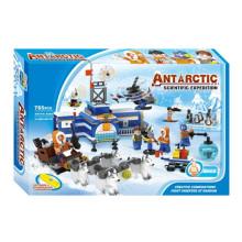 Boutique Building Block Toy-Antarctic Scientific Expedition 10 with 6PCS Staff