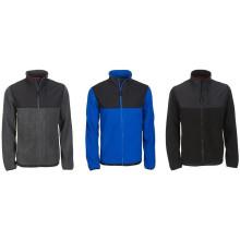 Camisola com jaqueta de lã com Zip