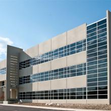 China factory aluminum reflective glass facade