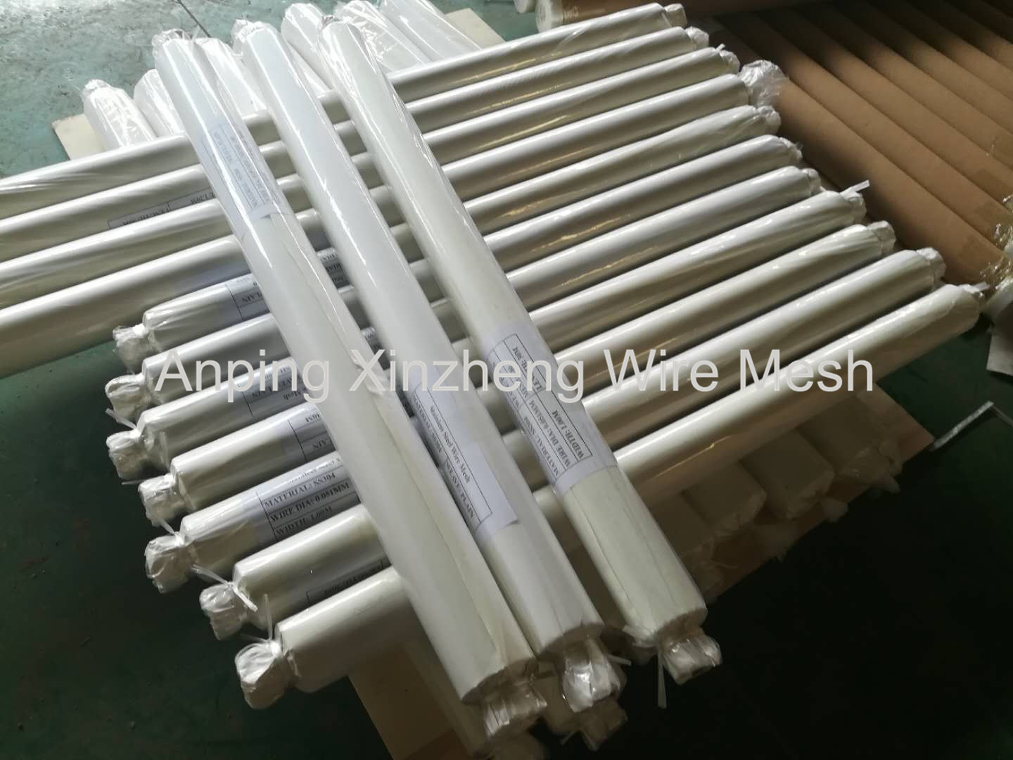 SS Wire Net Packaging