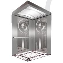 Aksen Mirror Etched Machine Room Passenger Elevator J0337