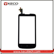 """4.5"""" inch Mobile Phone Outer Screen Touch Sensor Digitizer Glass For Lenovo A800 Black"""