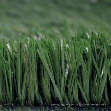 PE материала 50мм-подгонянный зеленый цвет газонных трав для спортивных полей