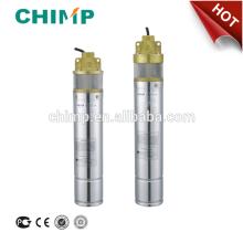 4SKM100 / 150/200 impeledor de vórtice de latón profundo 1.0hp / 1.5hp / 2.0hp bomba de agua de pozo sumergible