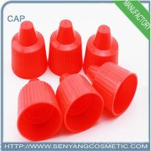 Rote Plastikscheibe oben für Flasche