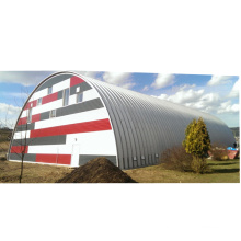 screw-joint metal roof building quonset hut kits and arch steel building quonset metal roof  hut metal roof storage