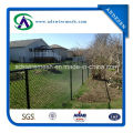 Black Powder Coated Chain Link Fence Systems