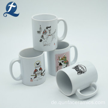 Hot Sale Travel Custom Drink billige Steinzeug Kaffeetasse Keramik