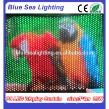 P9 RGB LED Display Curtain Cloth\LED Stage Backdrop Decoration