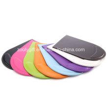 Cojín de ratón clasificado del cuero de la PU del color con el resto de la muñeca / el cojín de ratón promocional del regalo