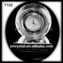 Wonderful K9 Crystal Clock T102