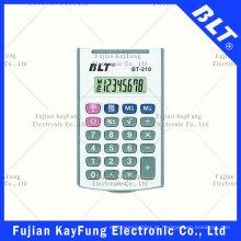 8 dígitos calculadora de tamanho de bolso Flippable (BT-210)