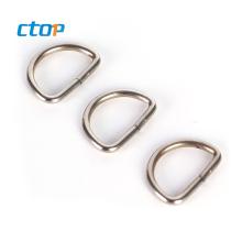 wholesale screw aluminum stainless steel metal d ring bag ring d ring hardware