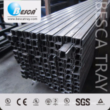 BS1000 41*41 Not Punching Steel Strut Channel Factory Prices Listed