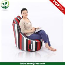 Personalizado impresión inndoor adultos bean bolsa silla