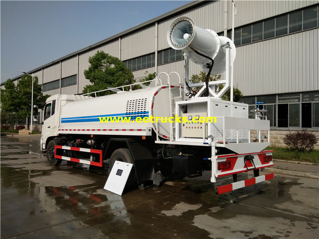 Dongfeng Dust Control Water Vehicles