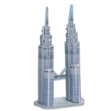Rompecabezas 3D de la Torres Gemelas Petronas