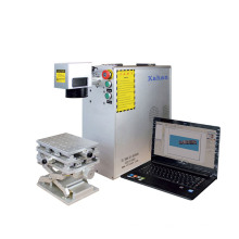 Hangzhou Metal Stainless Steel Fiber Laser Marking Metal Engraving Machine