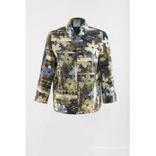 Impressão de jaqueta tecida