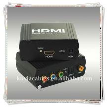 Alta qualidade YPbPr + SPDIF ao conversor de HDMI