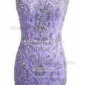 Mermaid Embellished Beading Sequins Evening Dress Fish Tail Full Dress