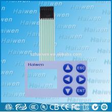 2x3 матричный мембранный переключатель с LCD-окном
