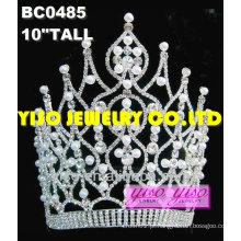 Moda tiara de diamante pérola