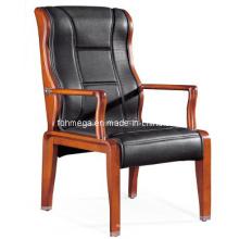 Chaise chaise en cuir noir en Chine (FOH-F26)